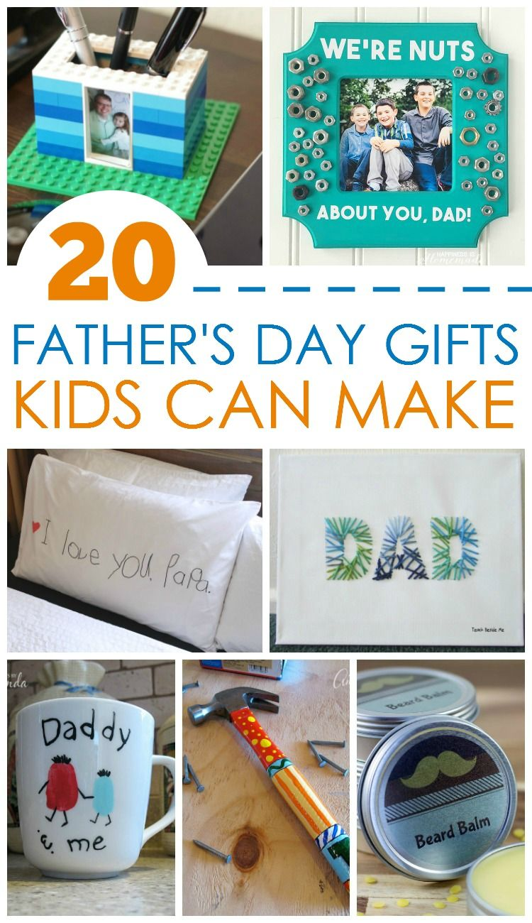 20 Father S Day Gifts Kids Can Make Fathers Day Kids