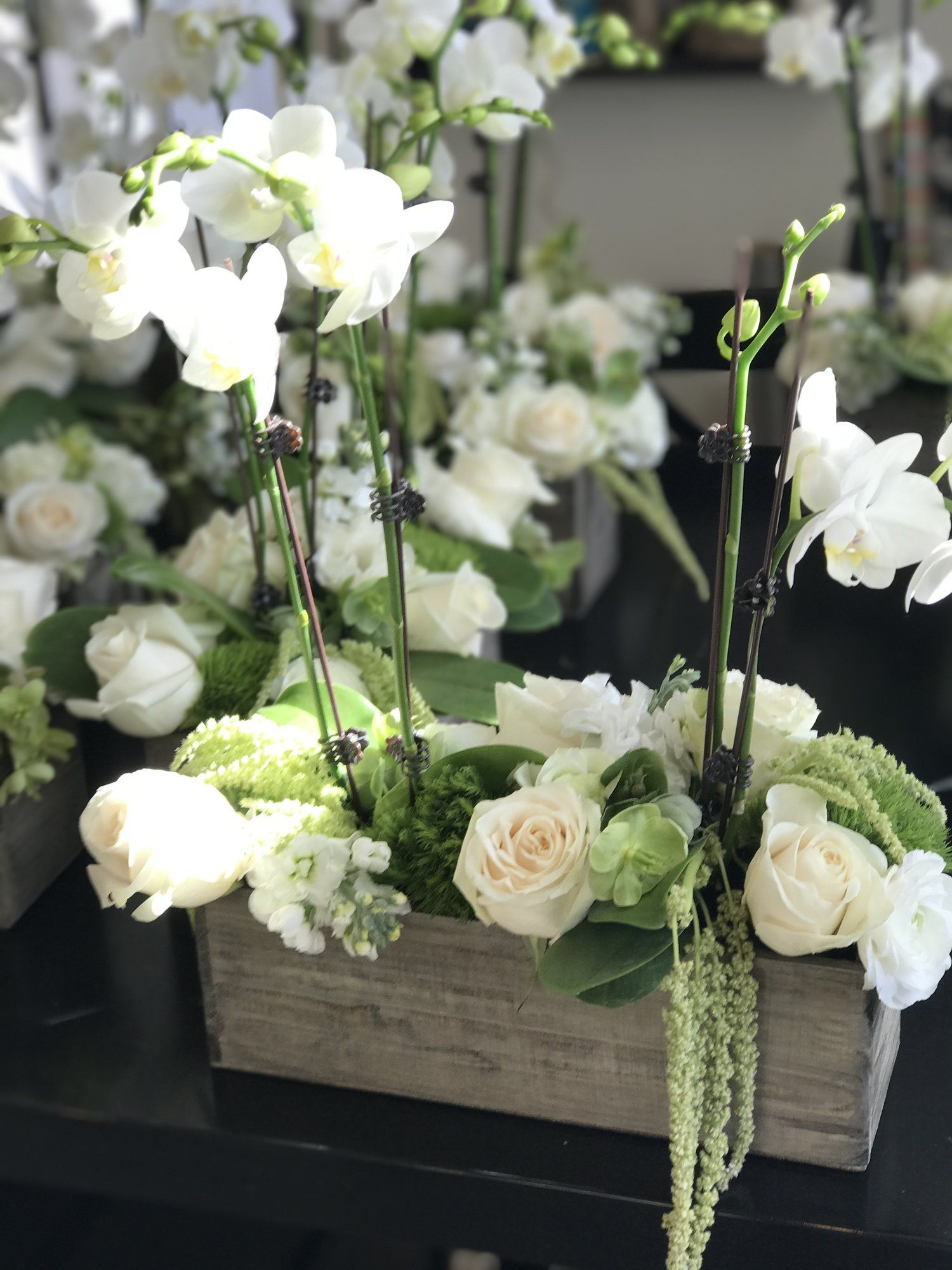 DIY Centerpiece with Step by Step Instructions Orchid