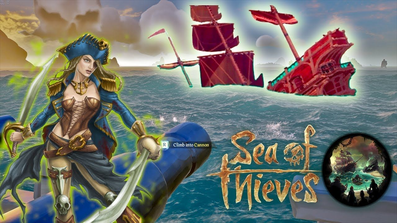 Let S Play Sea Of Thieves Girl Rule The Sea Pc Ft Xbox One Mp Game Sea Of Thieves Girls Rules Games
