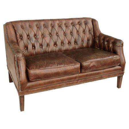 weathered leather couch take a seat in 2019 settee sofa settee rh pinterest com  weathered leather couch