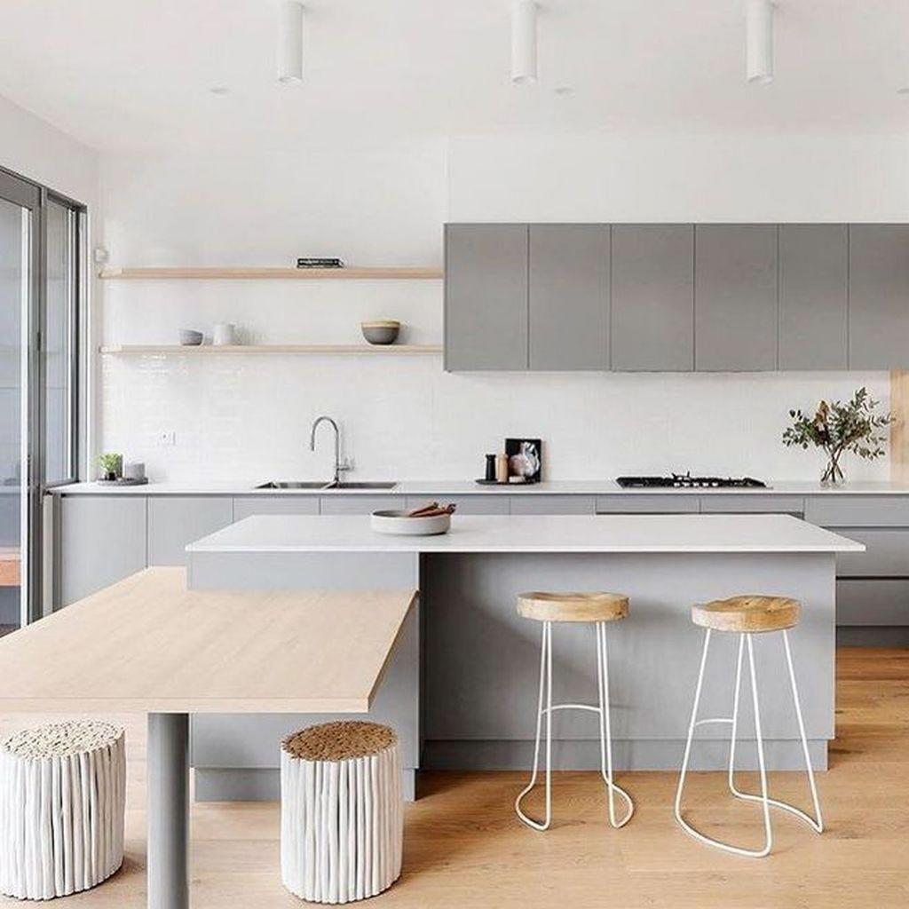 Idee Per La Cucina 95 luxury large modern white kitchen with white cabinets