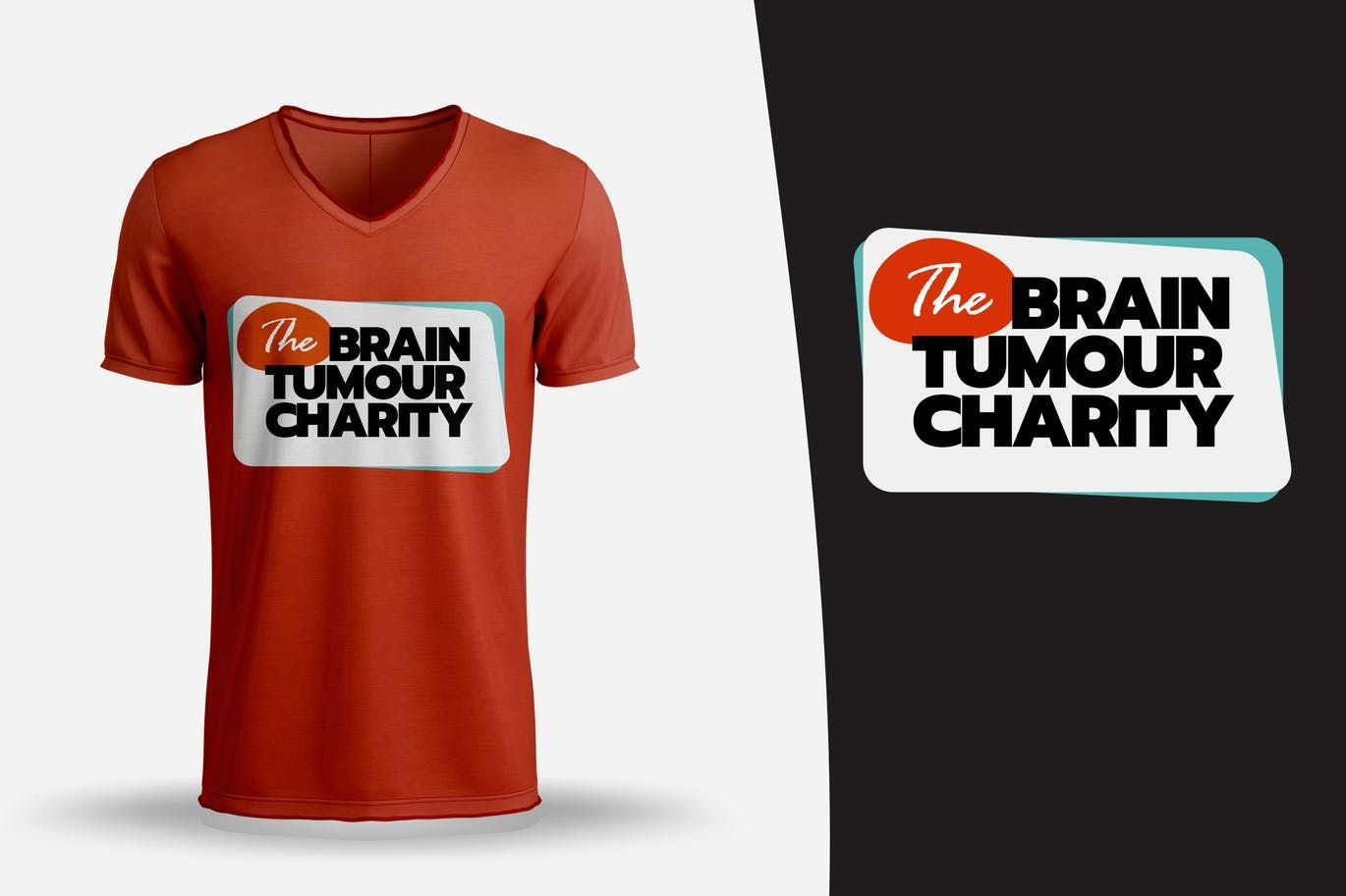 Brain Tumour Charity T Shirt Design Template Psd T Shirt