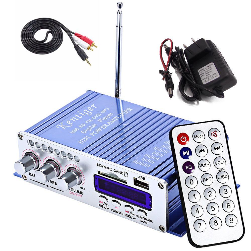 MP3 Speaker LED HiFi 2 Channel Digital Display Power