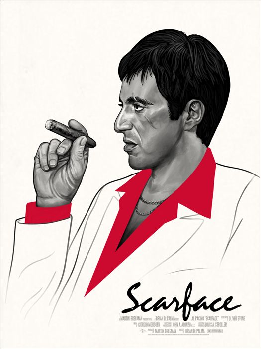 Mondo: The Archive   Mike Mitchell - Scarface, 2013