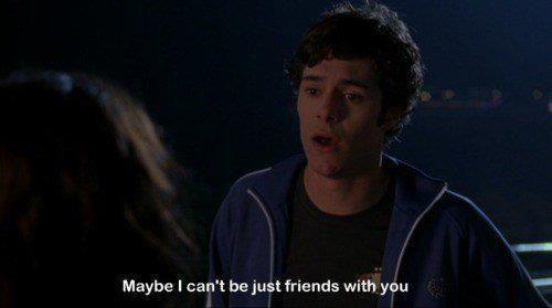 Forse io non posso essere solamente amico con te.