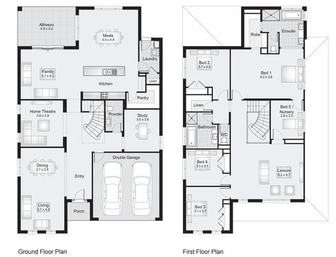 Sherwood 42 Floor Plan 386 30sqm 12 20m Width 19 20m Depth