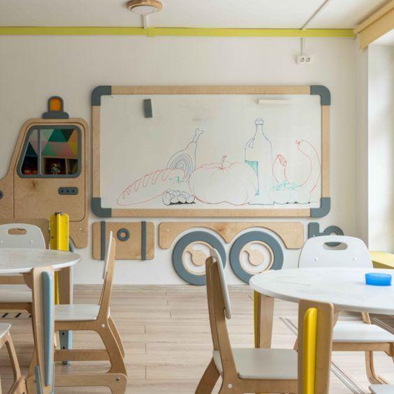 детская учебная мебель