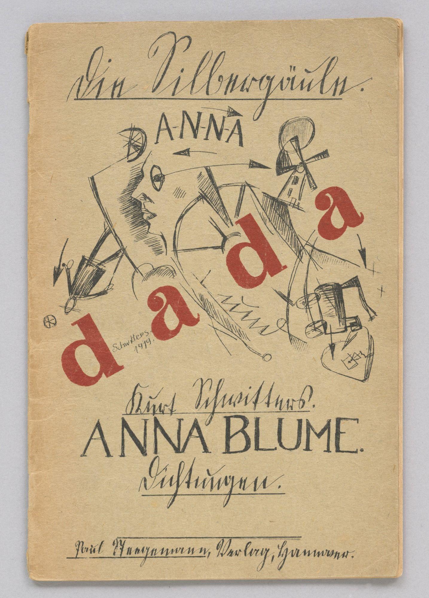 Pin by Clair J on Schwitters Dada manifesto, Dada art