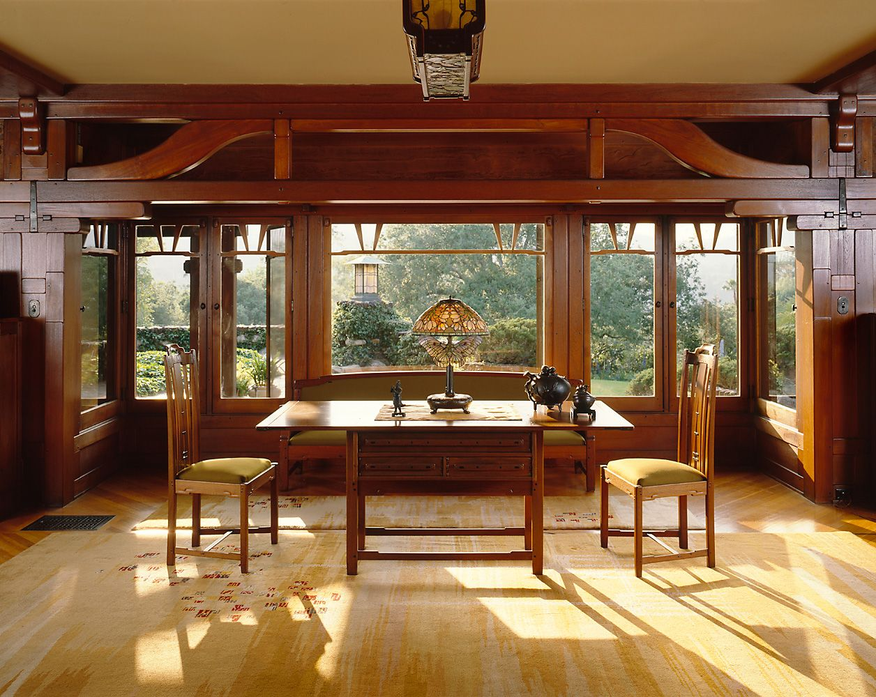 gamble house interior | greene & greene thoorsen house | greene