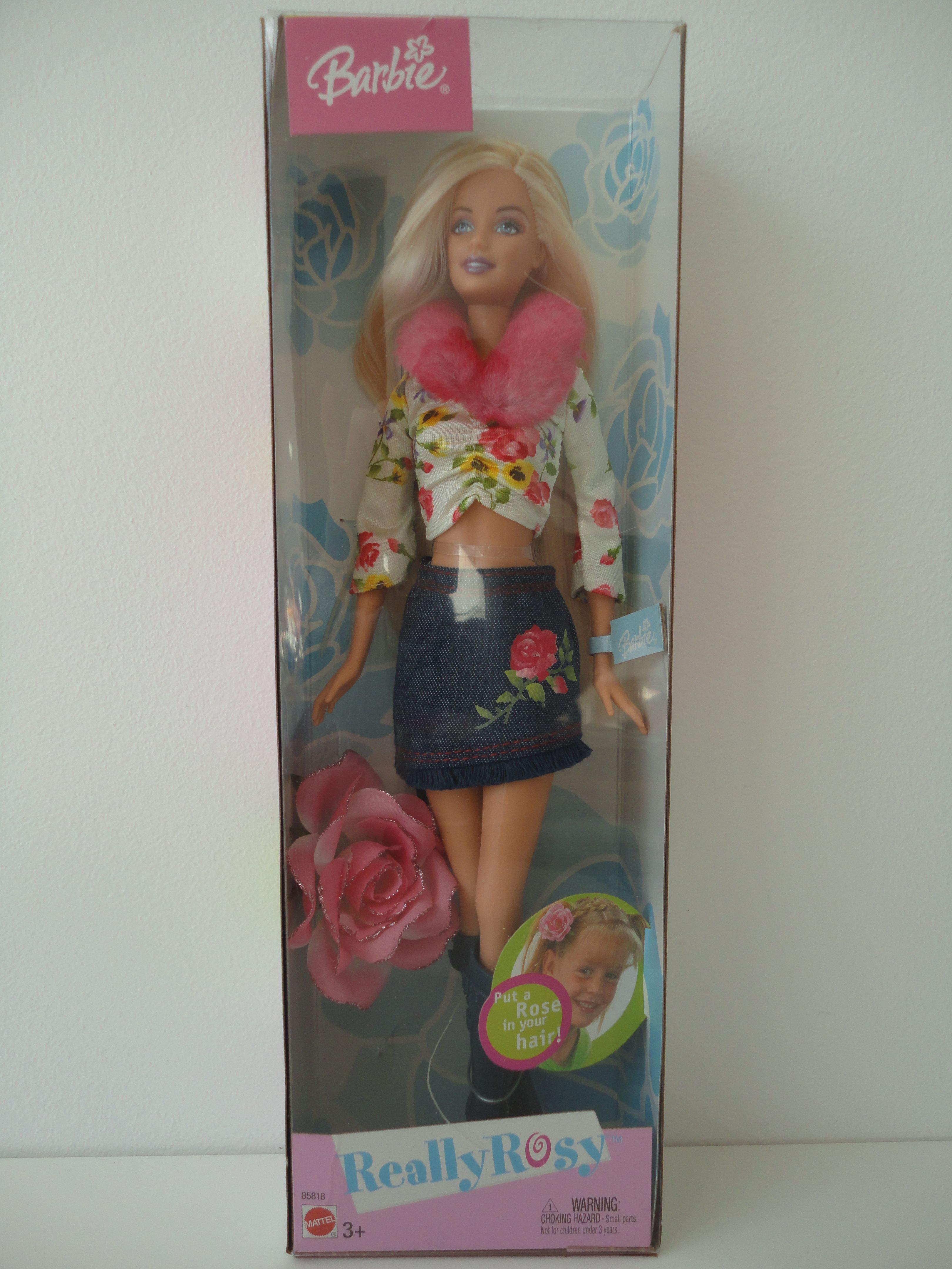 Really Rosy Barbie B5818 Bd2003 Barbie Barbie Fashion Rosie