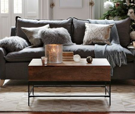 Rustic Coffee Table Rustic Couch Home Living Room