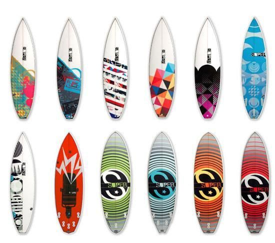 Pintar tabla surf con plantilla buscar con google surf - Tablas de surf personalizadas ...