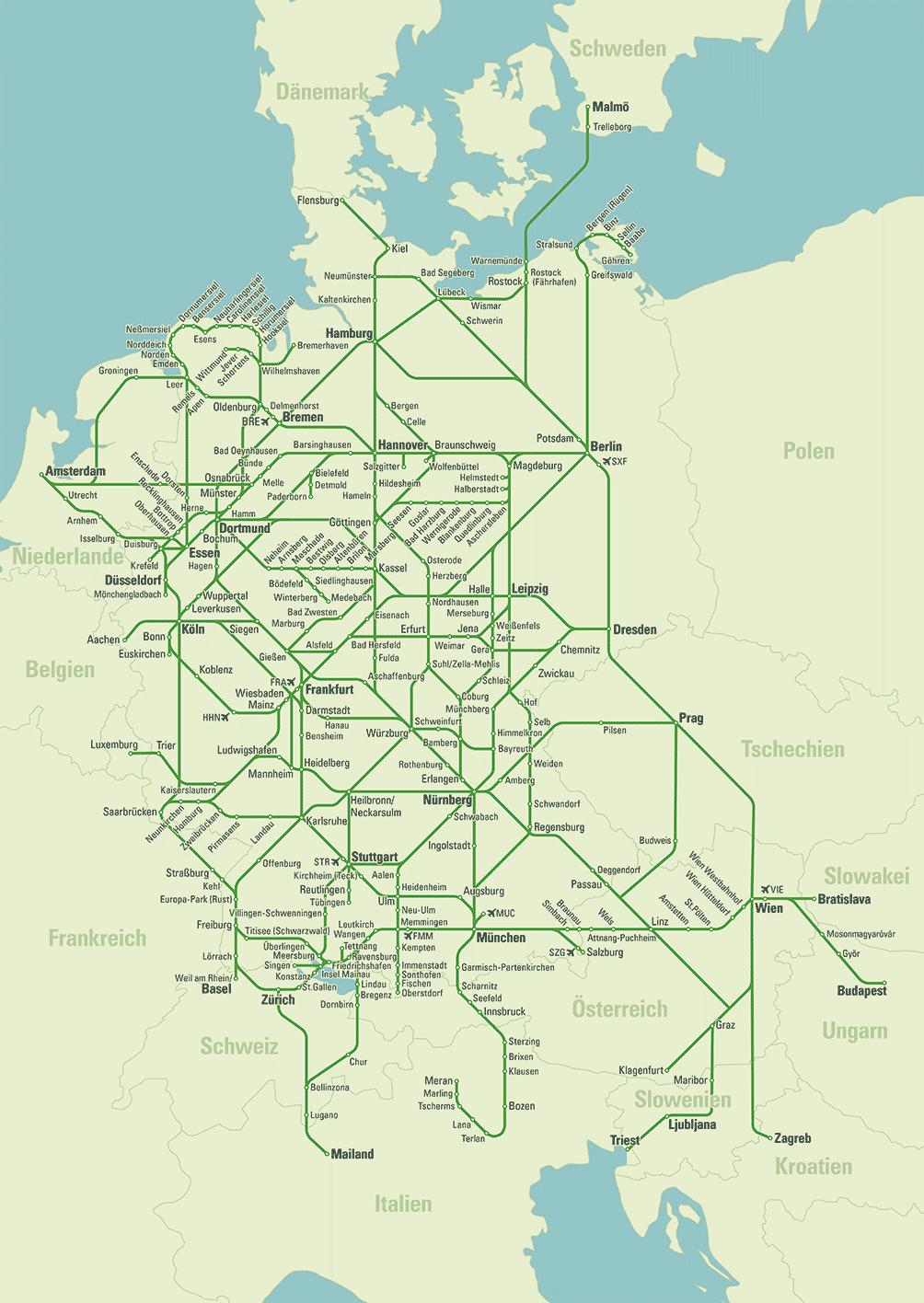 flixbus karte Travel with Flixbus | Reizen | Reisen deutschland, Deutschland und
