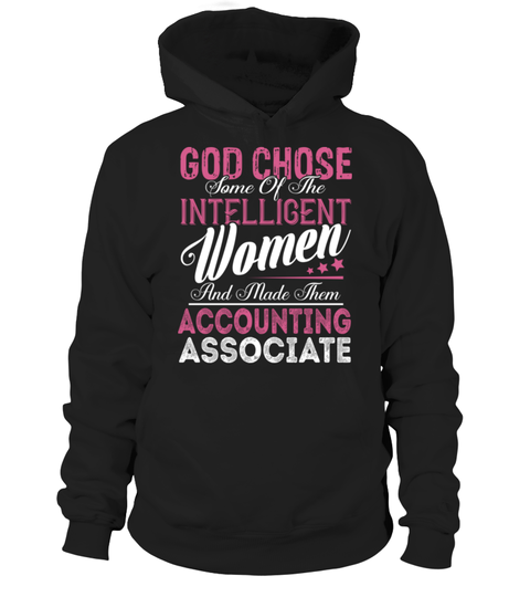 "# Accounting Associate - GOD CHOSE .    GOD CHOSE Some of the Intelligent Women And Made Them Accounting Associate Special Offer, not available anywhere else!Available in a variety of styles and colorsBuy yours now before it is too late! Secured payment via Visa / Mastercard / Amex / PayPal / iDeal How to place an order  Choose the model from the drop-down menu Click on ""Buy it now"" Choose the size and the quantity Add your delivery address and bank details And that's it!"