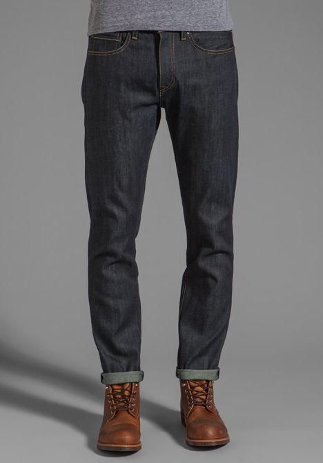 0e5fac68 LEVI'S: Made & Crafted Tack Slim Jeans in Indigo Rigid | MENS STYLE ...