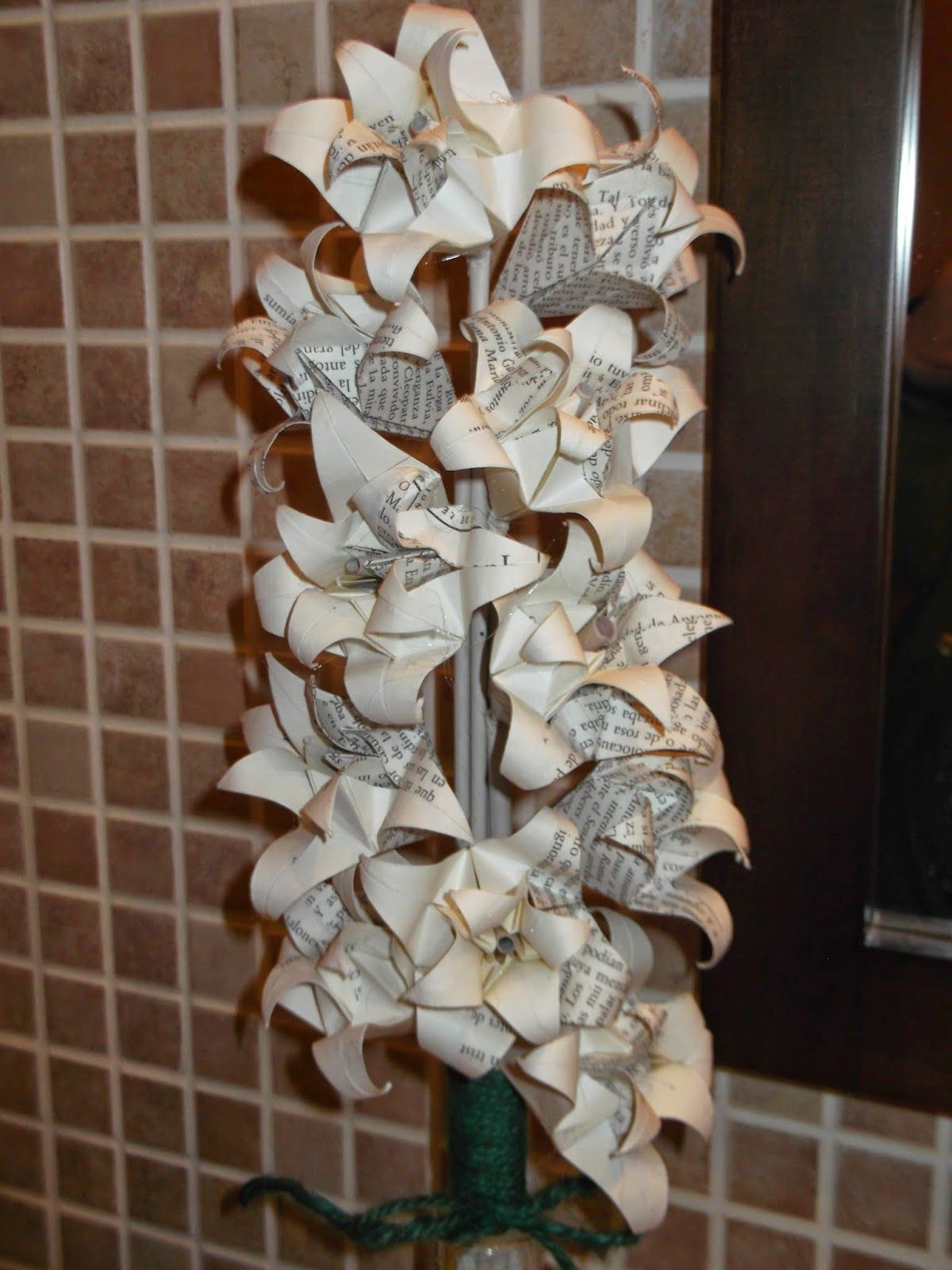 Manualidades y mas cosas manualidades con papel papel de periodico pepa pinterest - Manualidades con papel craft ...