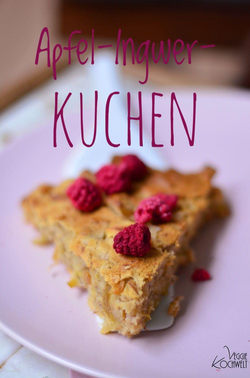 Apfel Ingwer Kuchen Mit Buchweizenmehl Veggiekochwelt Rezepte Rezepte Mit Buchweizen Buchweizen