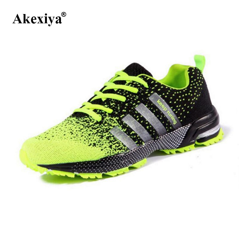 New Tide Men's Mesh Breathable Running Shoes Flat Shoes Men sneakers Lace  Up Comfortable Shoes Women