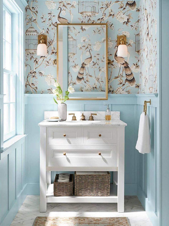 Alerta deco los ba os de color azul son la ltima for Muebles para decoracion de banos