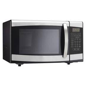 Danby 0 9 Cu Ft 900 Watt Microwave Oven Stainless Steel