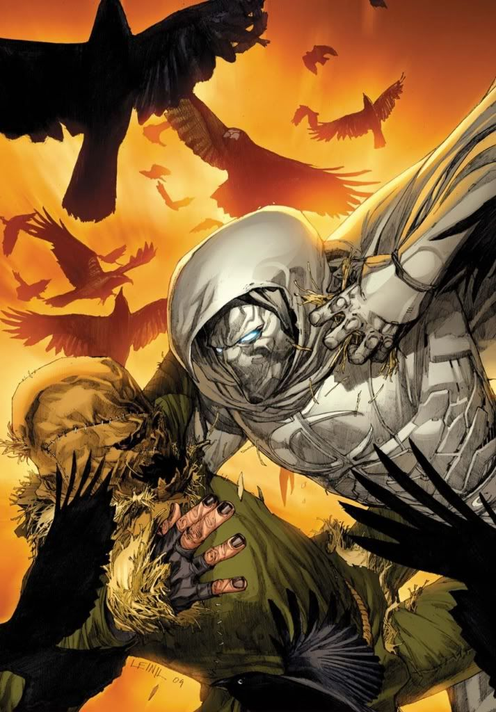 Fall Scarecrow Wallpaper Moon Knight Vs The Scarecrow Comics Marvel Marvel