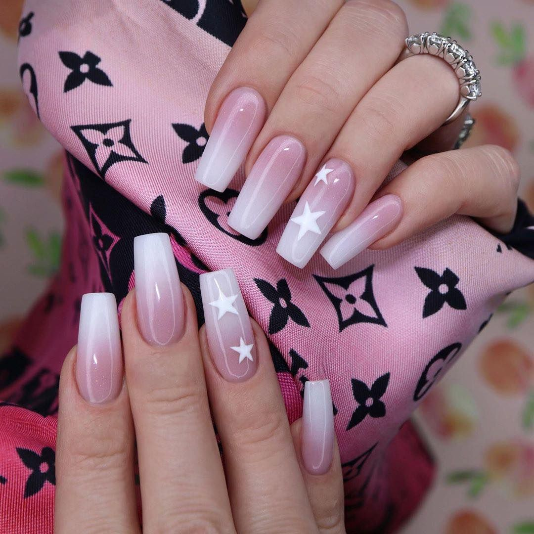 Top 32 Acrylic Nail Designs Of 2020 Page 28 Of 32 Creative Vision Design In 2020 Best Acrylic Nails Ombre Acrylic Nails Nails Now