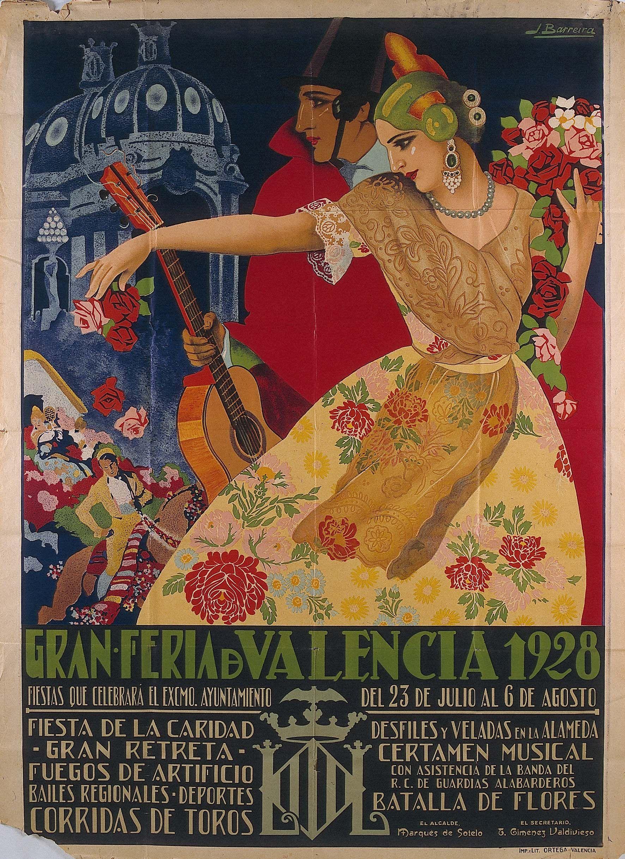 Gran fira de val ncia 1928 let 39 s go en 2019 vintage - Vintage valencia ...