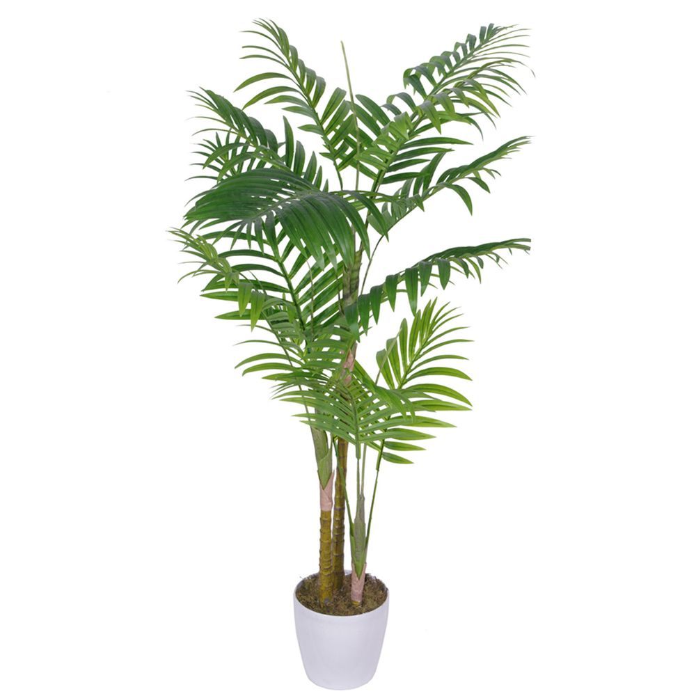 2m artificial areca palm trees with 12 leaves artificial for Pictures of areca palm plants