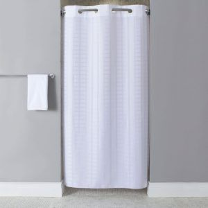 Fabric Shower Curtains For Stalls