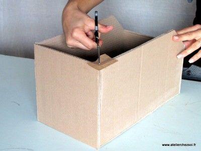 Epingle Sur Boites En Carton