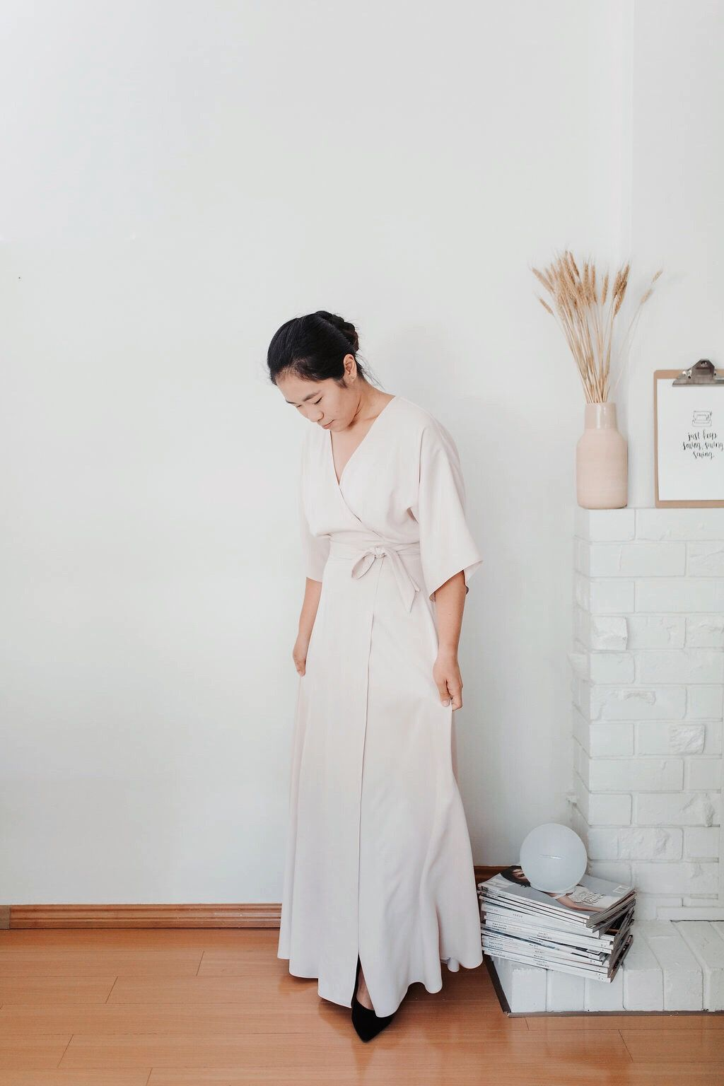 Casual hippie wedding dresses  Arden dress  bm colors  Pinterest  Bridesmaid dresses Bridesmaid