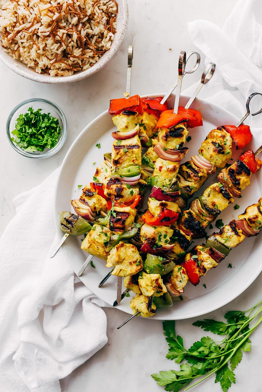 Easy persian chicken kebabs recipe little spice jar