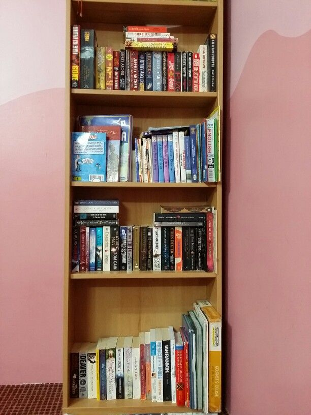 My Humble Bookshelf May I Someday Have The Magical Powers To