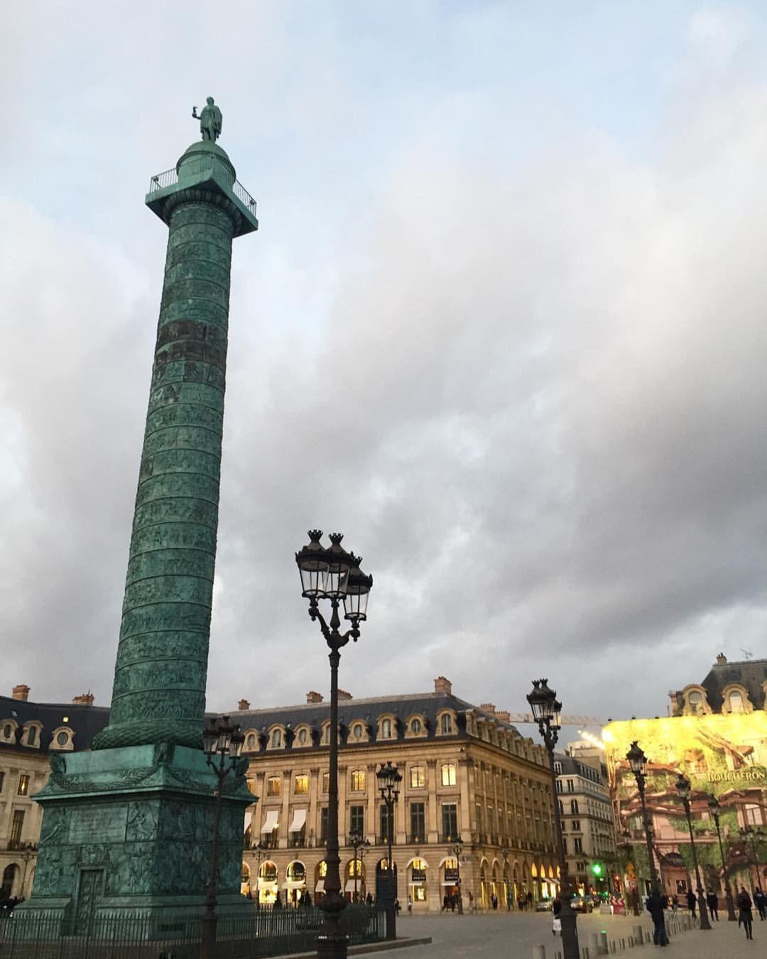 Place Vendome Paris Frankreich Paris Reiseziele Urlaub