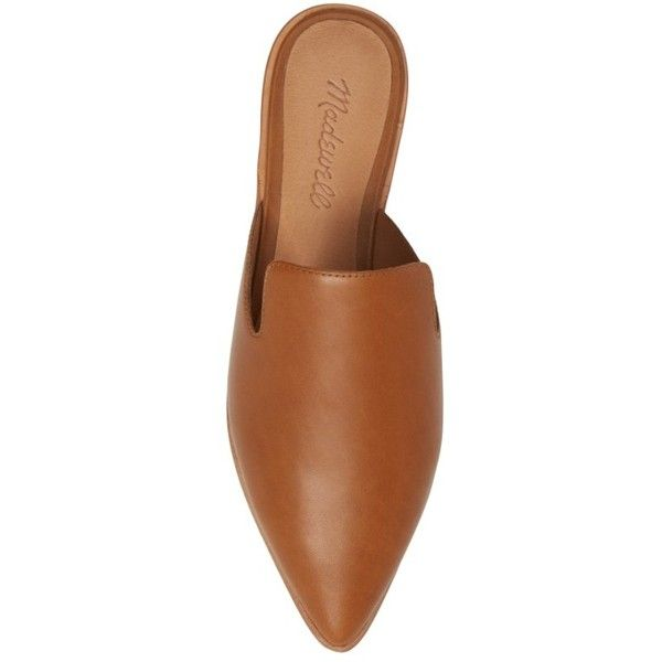 575e0dd399ab Women s Madewell Gemma Pointy Toe Mule ( 98) ❤ liked on Polyvore featuring  shoes