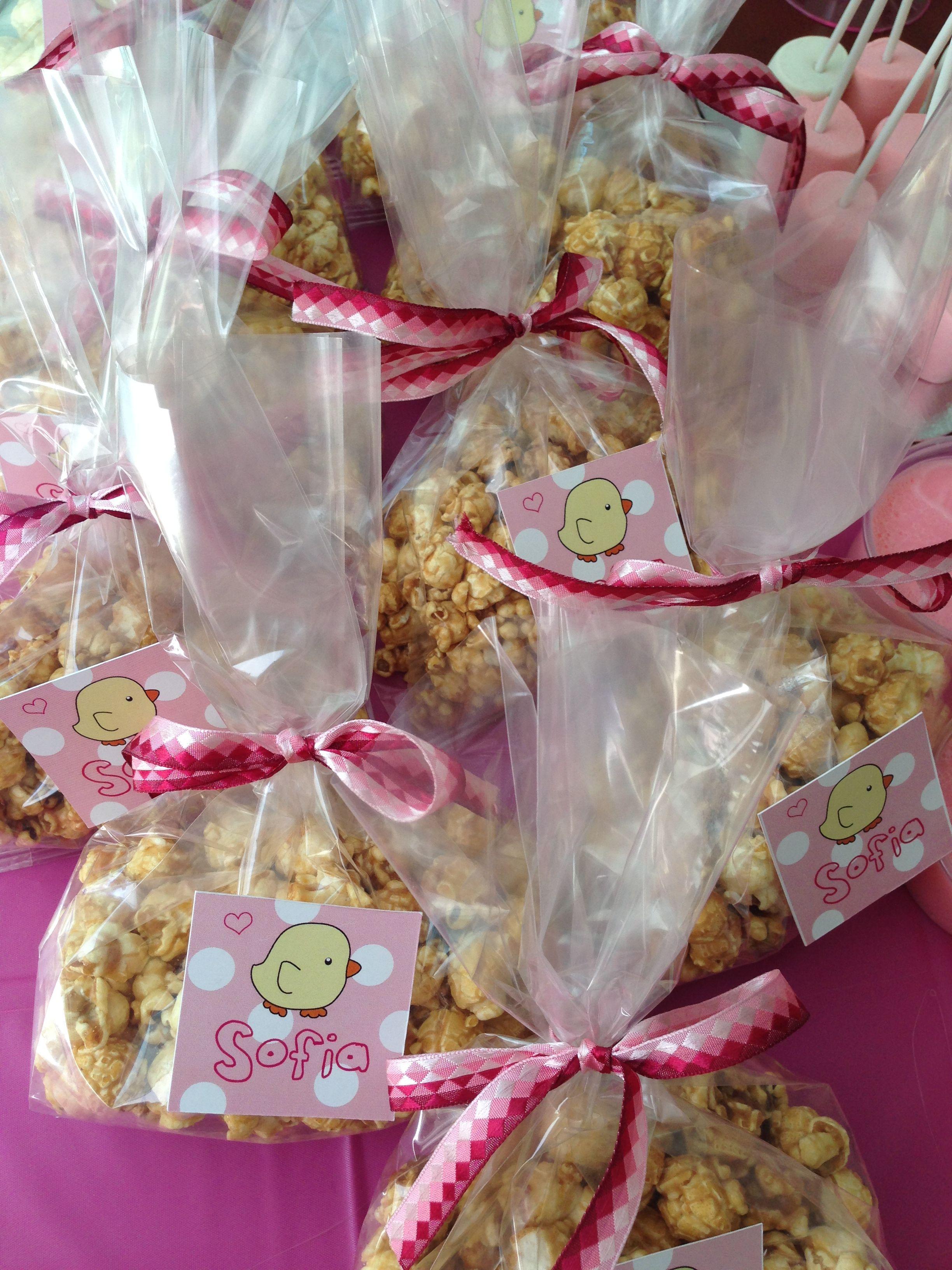 Palomitas un dulce detalle para baby shower party ideas pinterest - Detalles para baby shower ...