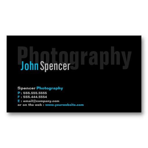 Modern minimalist photography business card photography business this photography business card template is ideal for photographers looking for a simple business card or a minimalist business card reheart Gallery