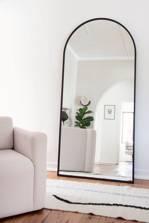 Bofred Half Floor Mirror Large Mirror Living Room Big Mirror In Bedroom Floor Mirror