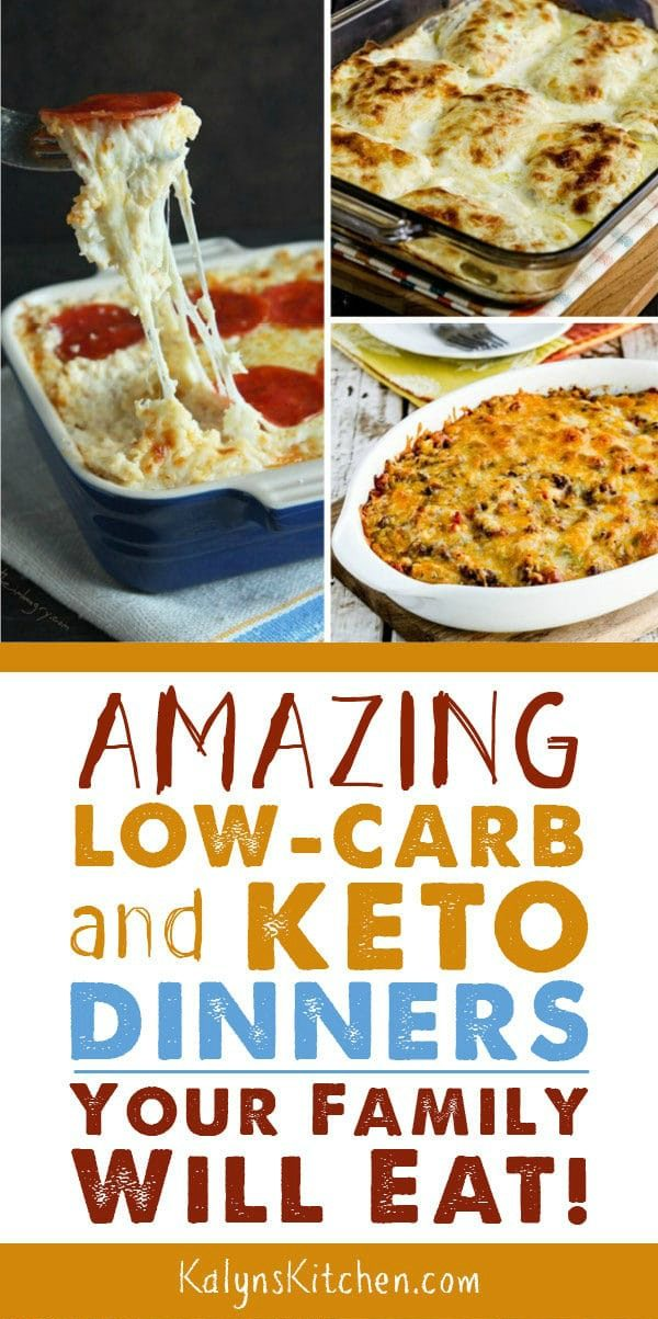 Amazing Low-Carb and Keto Dinners Your Family Will Eat! images
