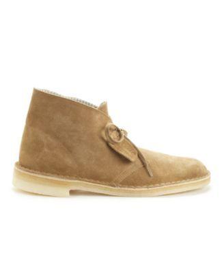 Clarks Desert Boot Mens Tan Brown Suede Comfort Desert Boots Shoes