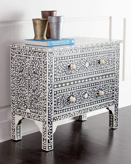 Bernhardt Campania Mirrored Bachelor's Chest