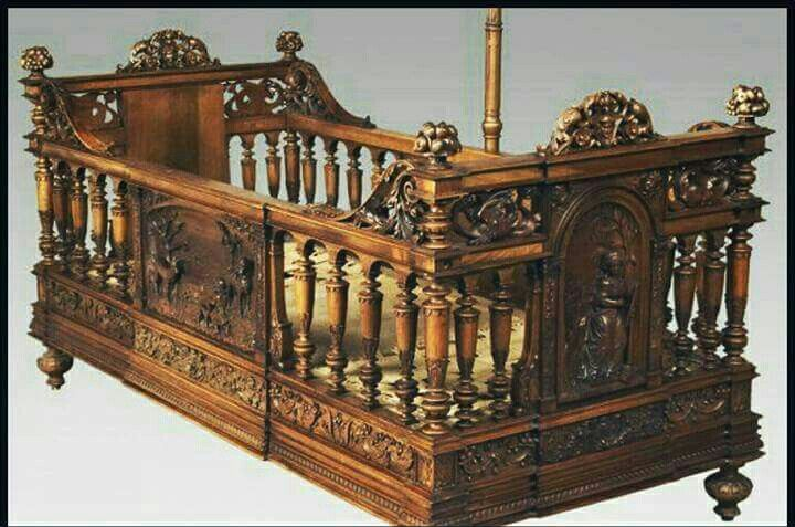 Gothic Victorian Baby Crib In 2019 Furniture Painting
