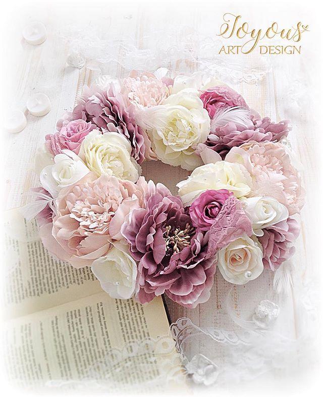 Just Romantic Flercz Venec Dekorace Kvetiny Kvety Svatba