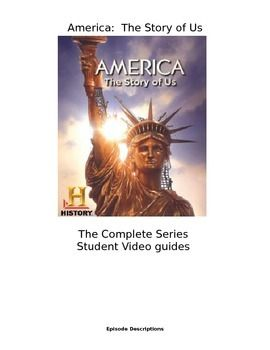 America The Story Of Us Video Guides The Complete Series