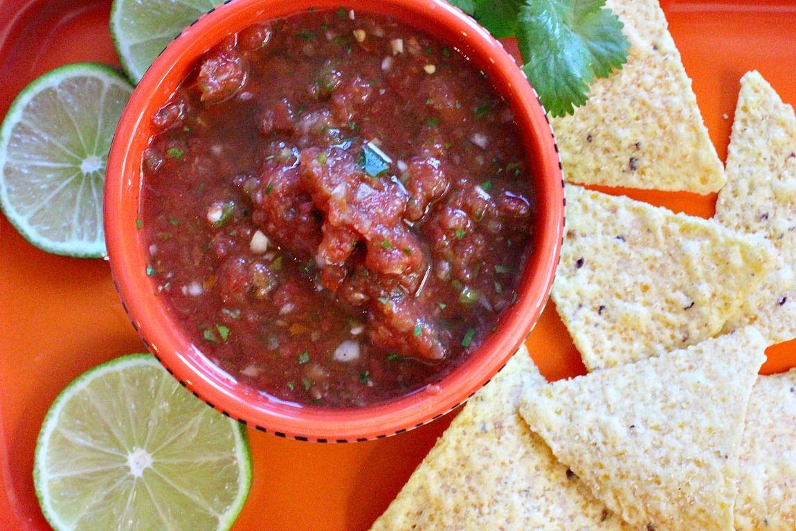 Essential mexican restaurant style salsa recipe