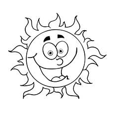 sun coloring pages  free printables  momjunction  sun