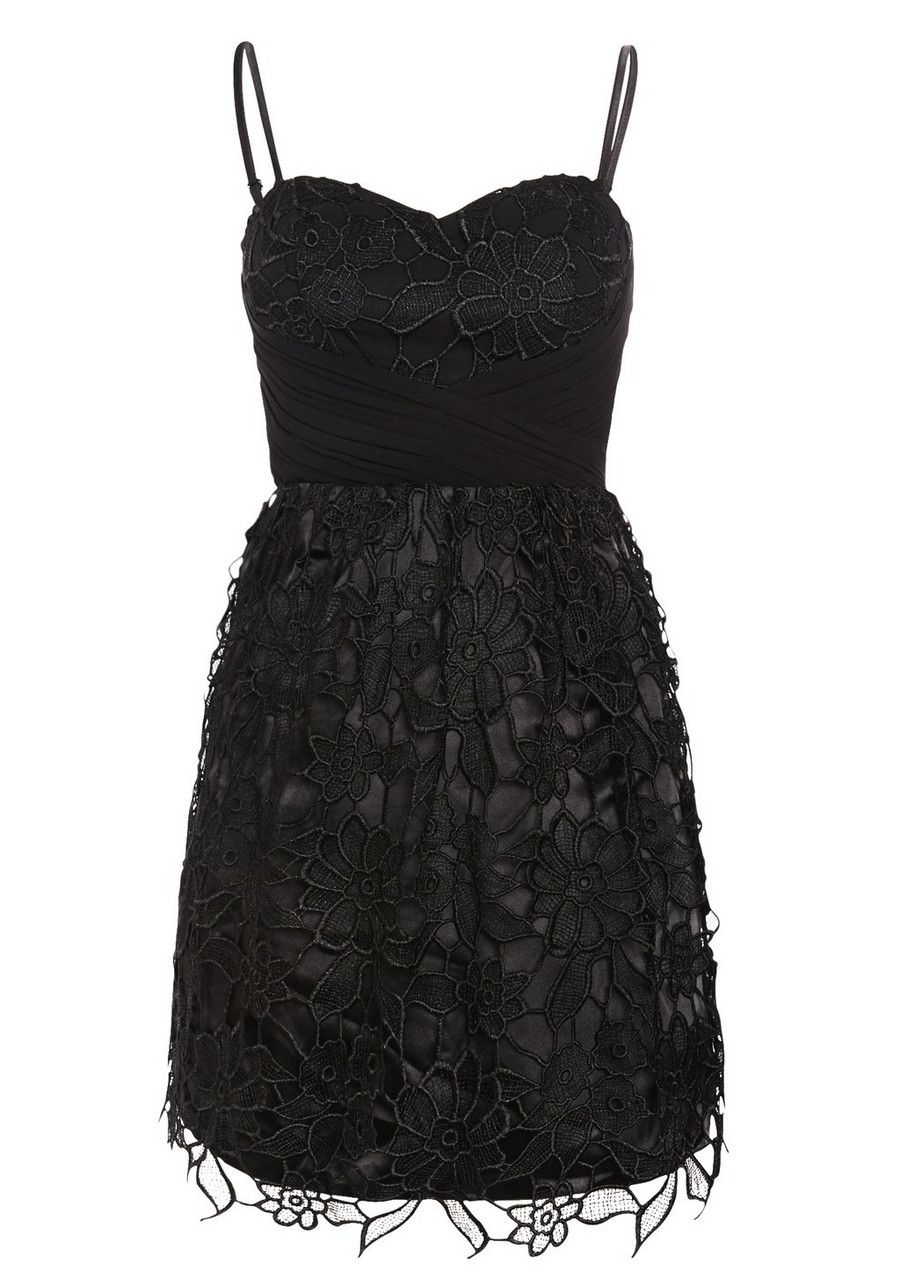 Clothing at Tesco | Ice Blossom Lace Prom Dress