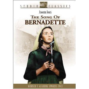 The Song of Bernadette (1943)- Jennifer Jones I have watched this movie probably every year of my life.