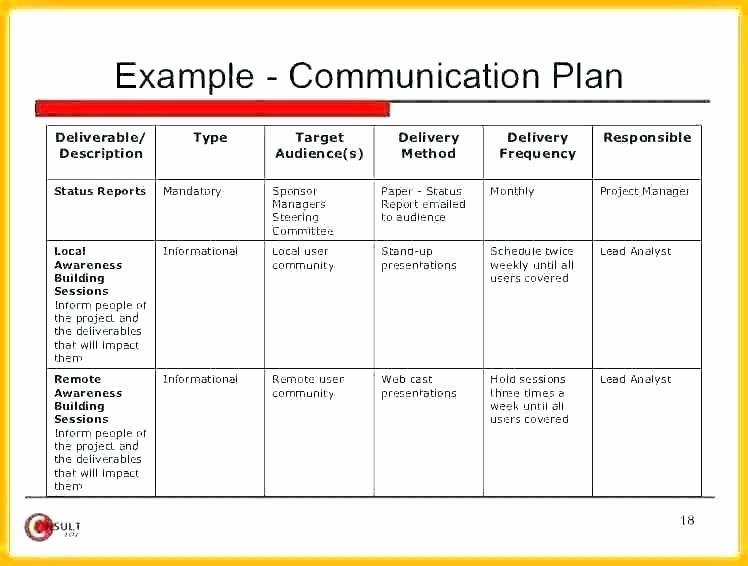 30 Church Communication Plan Template In 2020 Communication