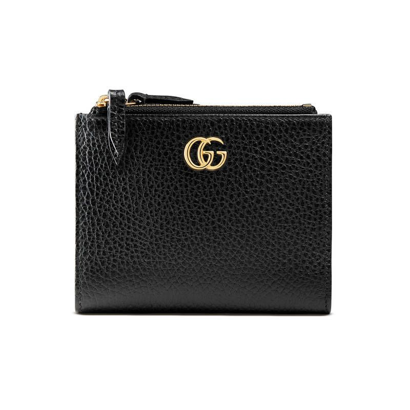 b8b3530a587 GUCCI GG MARMONT LEATHER WALLET.  gucci